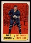 1967 Topps #81   Marcel Pronovost Front Thumbnail