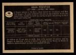 1967 Topps #45   Dean Prentice Back Thumbnail