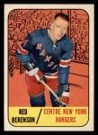 1967 Topps #24  Red Berenson  Front Thumbnail