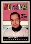 1967 Topps #129  All-Star  -  Glenn Hall Front Thumbnail