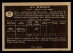 1967 Topps #58  Paul Terbenche  Back Thumbnail