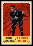 1967 Topps #83   George Armstrong Front Thumbnail