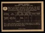 1967 Topps #18  Bruce Gamble  Back Thumbnail