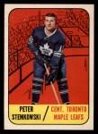 1967 Topps #12   Pete Stemkowski Front Thumbnail