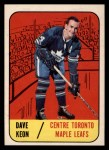 1967 Topps #11  Dave Keon  Front Thumbnail