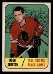 1967 Topps #53   Doug Shelton Front Thumbnail