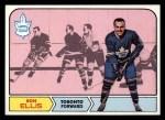 1968 Topps #126  Ron Ellis  Front Thumbnail