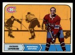 1968 Topps #58   Jacques Laperriere Front Thumbnail
