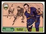 1968 Topps #42   Lowell MacDonald Front Thumbnail