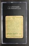 1933 Goudey Sport Kings #45   Babe Didrickson  Back Thumbnail