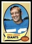 1970 Topps #174  Greg Larson  Front Thumbnail
