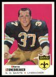 1969 Topps #174  Steve Stonebreaker  Front Thumbnail