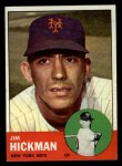 1963 Topps #107   Jim Hickman Front Thumbnail