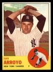 1963 Topps #569  Luis Arroyo  Front Thumbnail