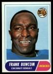 1968 Topps #18  Frank Buncom  Front Thumbnail