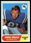 1968 Topps #126   Ordell Braase Front Thumbnail