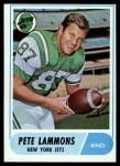 1968 Topps #143   Pete Lammons Front Thumbnail