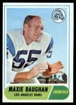 1968 Topps #210   Maxie Baughan Front Thumbnail