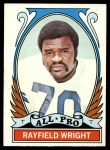 1972 Topps #266  All-Pro  -  Rayfield Wright Front Thumbnail