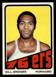 1972 Topps #17  Bill Bridges   Front Thumbnail