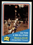 1972 Topps #166   Bob Love Front Thumbnail