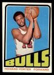 1972 Topps #127   Howard Porter  Front Thumbnail