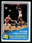 1972 Topps #169  Nate Archibald   Front Thumbnail