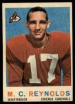 1959 Topps #135   M.C. Reynolds Front Thumbnail