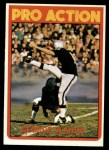 1972 Topps #348  Pro Action  -  George Blanda Front Thumbnail