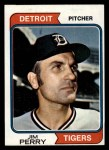 1974 Topps #316   Jim Perry Front Thumbnail