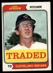 1974 Topps Traded #579 T  Cecil Upshaw Front Thumbnail