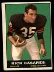 1961 Topps #12  Rick Casares  Front Thumbnail