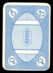 1971 Topps Game Inserts #50   Bart Starr Back Thumbnail