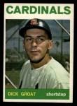 1964 Topps #40  Dick Groat  Front Thumbnail