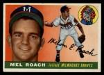 1955 Topps #117   Mel Roach Front Thumbnail
