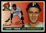 1955 Topps #12  Jake Thies  Front Thumbnail