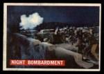 1956 Topps Davy Crockett #58 ORG  Night Bombardment  Front Thumbnail