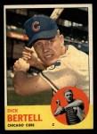 1963 Topps #287  Dick Bertell  Front Thumbnail