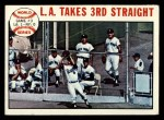 1964 Topps #138  1963 World Series - Game #3 - L.A. Takes 3rd Straight - Ron Fairly  Front Thumbnail