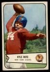 1954 Bowman #7  Kyle Rote  Front Thumbnail