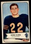 1954 Bowman #23  George Blanda  Front Thumbnail