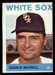 1964 Topps #401   Charlie Maxwell Front Thumbnail