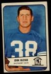 1954 Bowman #2  John Huzvar  Front Thumbnail