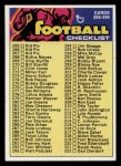 1973 Topps #358  Checklist 265-396  Front Thumbnail