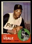 1963 Topps #87  Bob Veale  Front Thumbnail