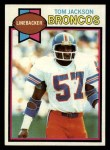 1979 Topps #83  Tom Jackson  Front Thumbnail