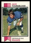1973 Topps #343  Jack Youngblood   Front Thumbnail