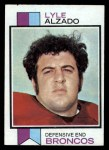 1973 Topps #312   Lyle Alzado Front Thumbnail