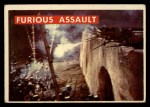 1956 Topps Davy Crockett #60 GRN Furious Assault   Front Thumbnail