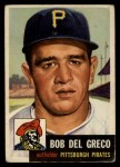1953 Topps #48  Bobby Del Greco  Front Thumbnail